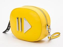 Овальная Женская мини-сумочка на ремне поясная короткая Наплечная Сумка на ремне