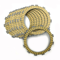 Motocycle Clutch Friction Plates Kit fit for SUZUKI Vintage Motocross RM125 1980 86 87 6pcs