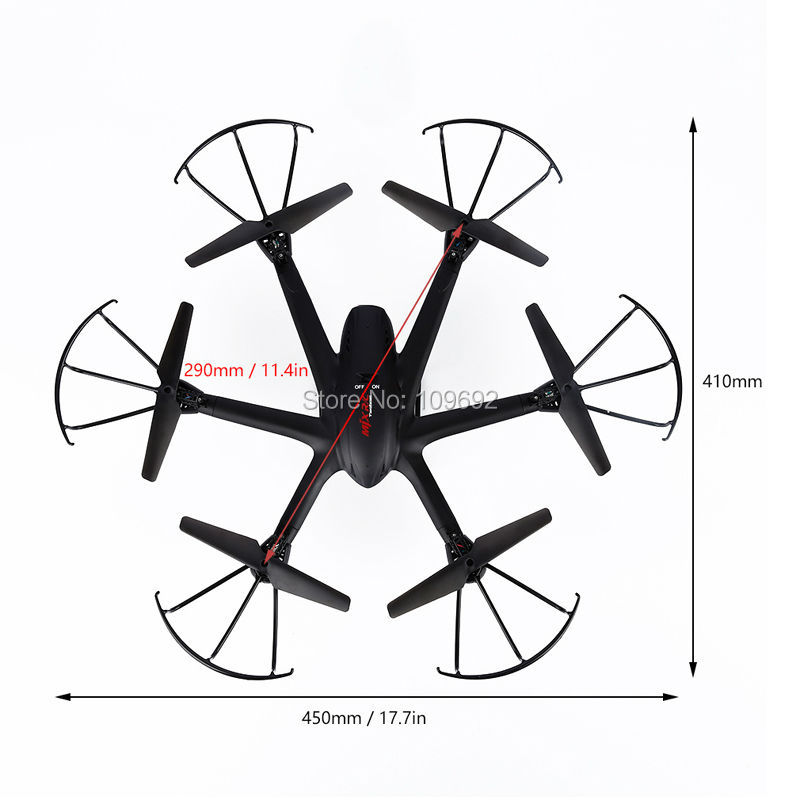 Mjx X600 Rc Quadcopter 6 Axis Helicopter Headless Drone 2 4g
