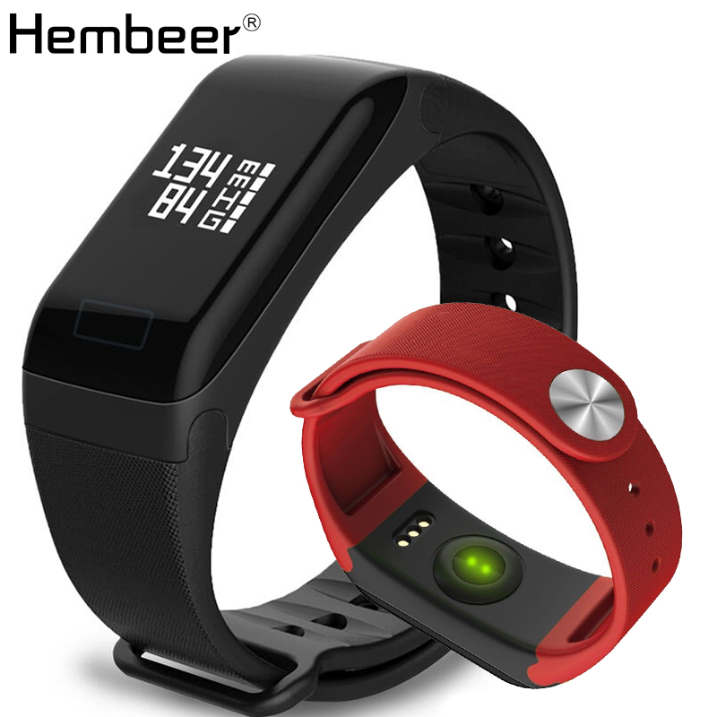 F1 Smart Band Heart Rate Monitore Smart Wristband Bracelet Health Wrist Watch Call Alarm Vibrating for xiaomi iPhone phone health monitoring bluetooth sync children s adults smart watch phone for iphone samsung huawei lg htc xiaomi so on smartphone