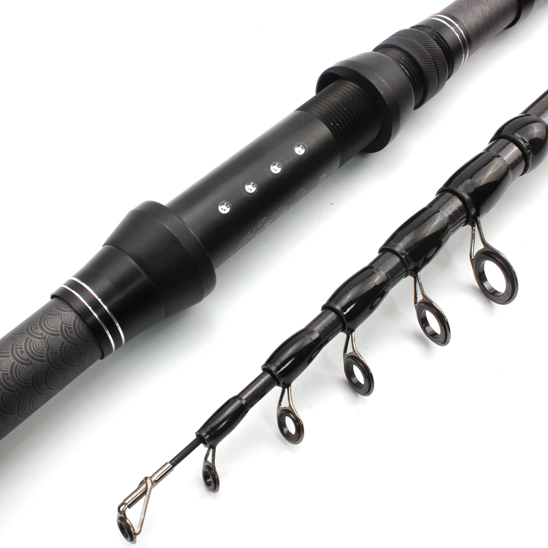 1.8m-3.0m Multifunction Spinning carbon fish telescopic fishing rod Fishing Tackle
