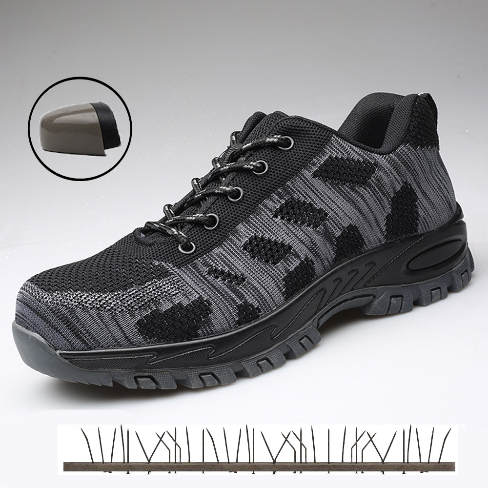 Men indestructible safety shoes for men work steel toe sneakers man Lightweight Military shoes army ankle casual shoes outdoor Men indestructible safety shoes for men work steel toe sneakers man Lightweight Military shoes army ankle casual shoes outdoor