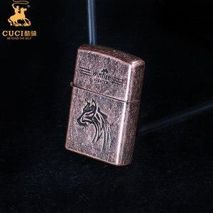 Image 5 - Briquet silex en métal Kerosene huile