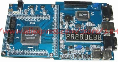 Free Shipping  V5 FPGA EP2C8 Development Board To Send USB Download Line