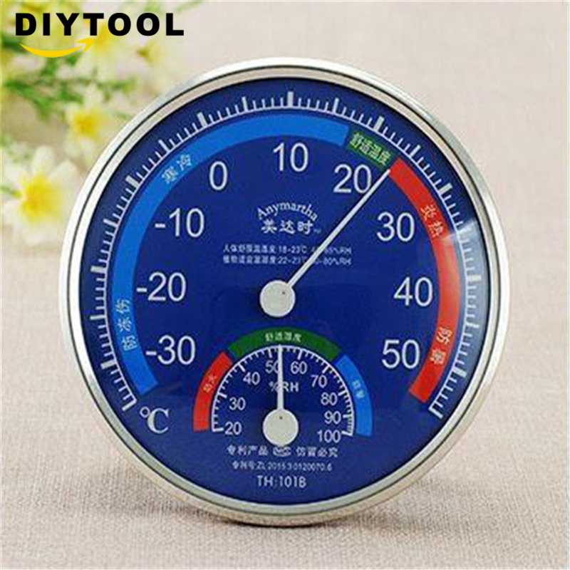 Standing Mini Indoor And Outdoor Thermometer Hygrometer
