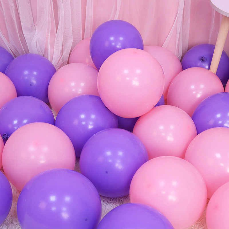 5pcs 12inch 5inch Gold Globos Pink Blue Latex Balloons Inflatable Air Ball Wedding Ballon Party Decoration Happy Birthday Balony