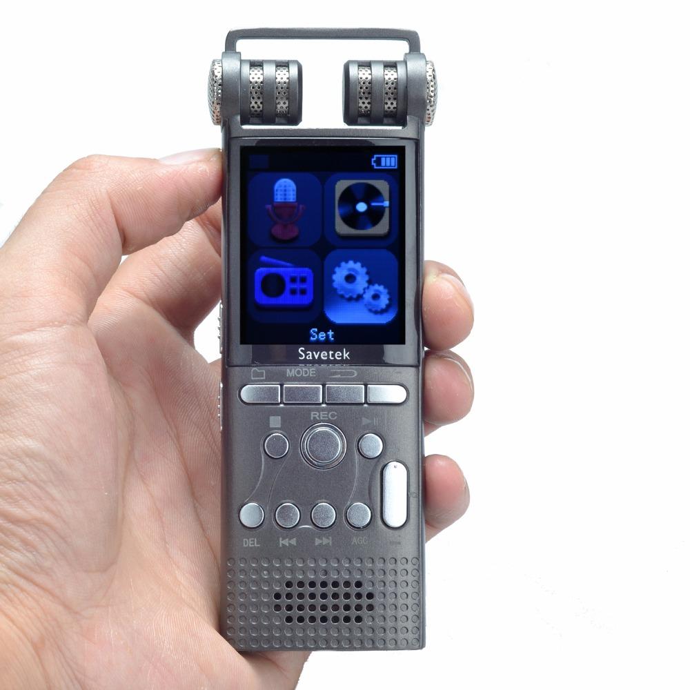 Prix pour Professionnel Voix Activé Numérique Audio Enregistreur Vocal 16 GB USB Espion Stylo Non-Stop 100hr Enregistrement PCM 1536 Kbps, Soutien TF-Carte