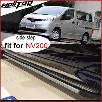 Новое прибытие боковой бар боковой шаг Беговая доска для Nissan MPV NV200, 5 лет надежного продавца, Толстый алюминиевый сплав, цена промотирования