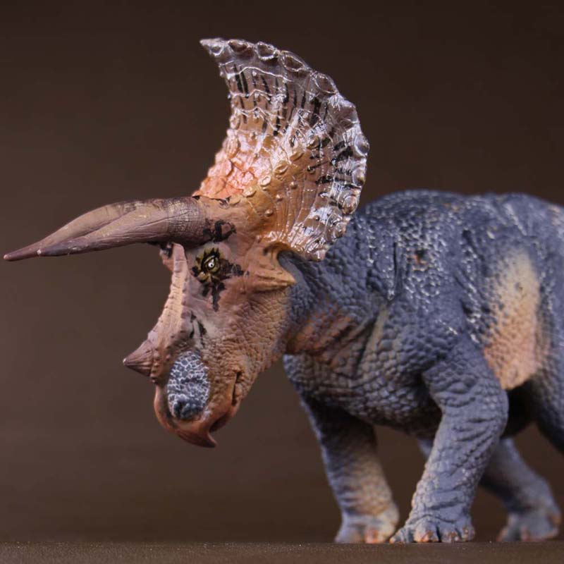 PNSO Limited Quantity Jurassic Century Dinosaur Triceratops Model 38cm 1 35