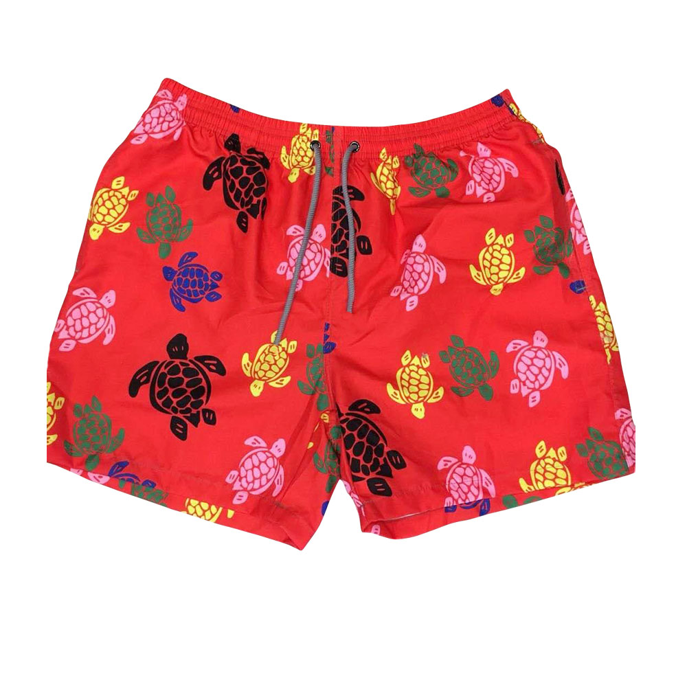 Mens boardshorts liner sports swimsuit mens print flowers bermudas siwmming trunks beach surfing bathing suit joggers