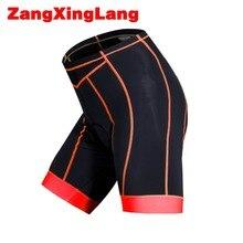 Zangxinglang Men cycling shorts with 3d gel pad bike Shorts ciclismo quick dry bicycle Free shipping