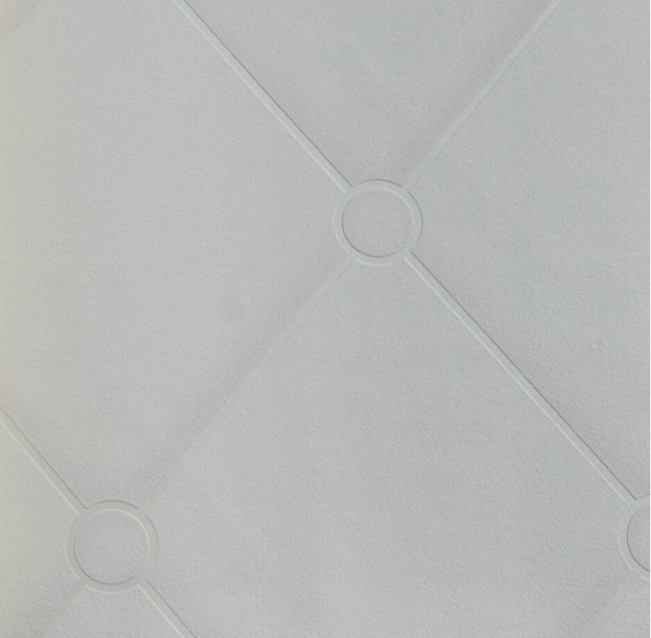 Creamy white leather designs wallpaper for bedroom  цены