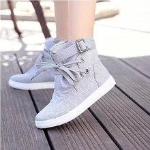 ผู้หญิงรองเท้าผ้าใบ2016ผู้หญิงรองเท้าระบายอากาศแบนที่เพิ่มขึ้นภายในผู้หญิงรองเท้า