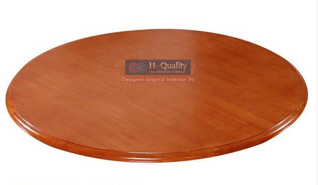 900 мм / 36 дюймов диаметр твердая древесина дуба тихий гладкий ленивый сьюзен вращающийся лоток обеденный стол поворотный поворотного стола плиты из 6 цветов выбор