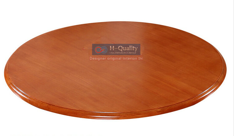 900MM/36INCH Dia Solid Oak Wood Quiet Smooth Lazy Susan Rotating Tray  Dining Table Swivel