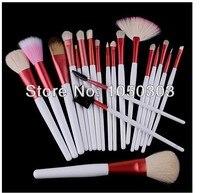 профессиональный макияж кисти розовый 20 шт. синтетический волос макияж кисти комплект и комплекты 20 шт. косметика макияж кисть мешок полиуретан