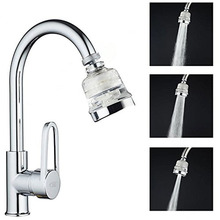 3 Modes Faucet Aerator Flexible Water Saving High Pressure Filter Sprayer Nozzle 360 degree Rotate Diffuser M24F22