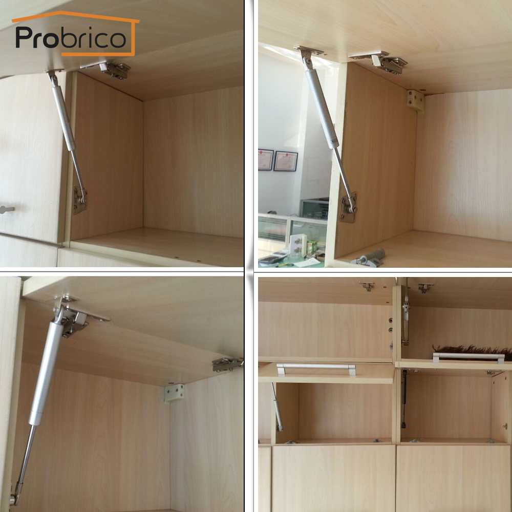 Elegant Probrico Force Gas Spring 80n GSK5SY80 Support Lift Kitchen Cabinet Hinges  Lid Stay Furniture Cupboard Soft Open/Close In Cabinet Hinges From Home ...