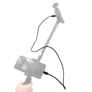 Image 5 - Зажим для фиксации телефона, селфи палка, кронштейн, удлинитель, штатив для DJI OSMO Pocket / DJI Pocket 2, ручной карданный держатель для камеры