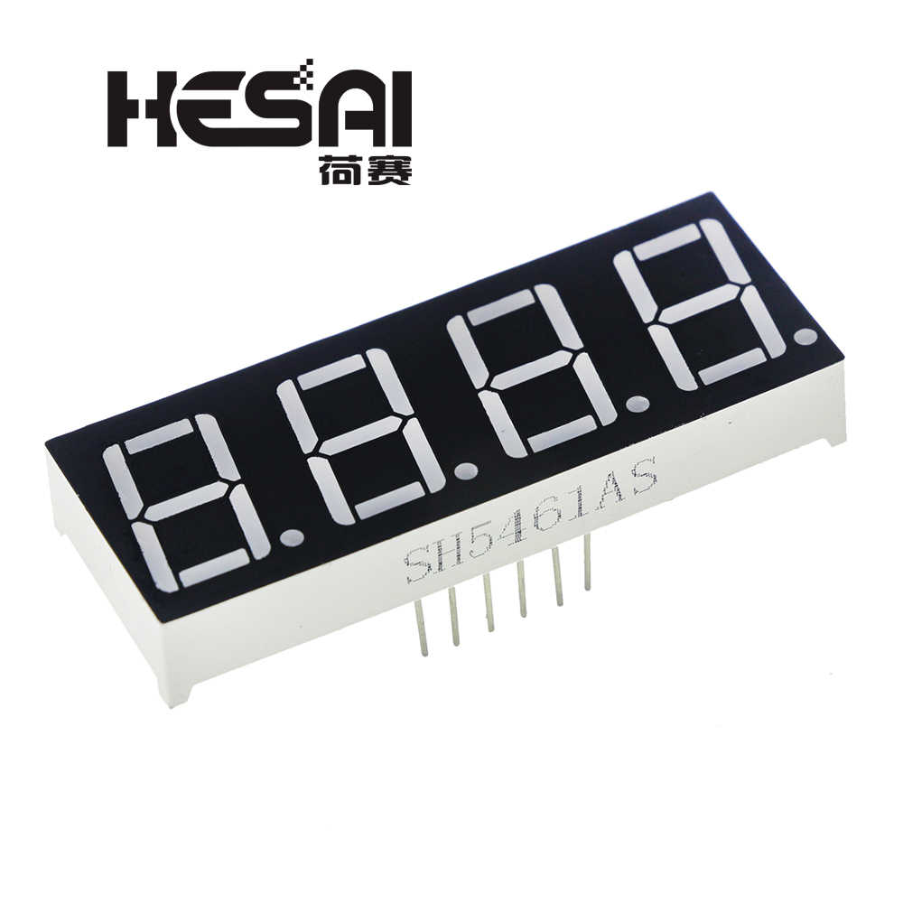 0.56 inch 4 digit Red led display 7 segment Common cathode GOOD QUALITY