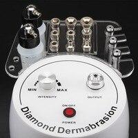 3 in1 Алмазная Микродермабразия дермабразия машина для распыления воды пилинг Красота машина удаление морщин для пилинга лица спа
