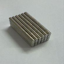 200 шт. неодимовые N35 диаметром 2 мм X 1 мм сильные магниты крошечный диск NdFeB редкоземельных для ремесла моделей холодильников Sticking 2018