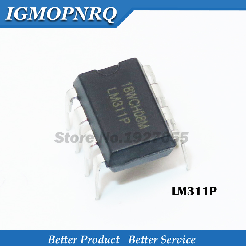 10PCS LM311DR LM311 DIFFERENTIAL COMPARATORS WITH STROBES