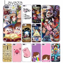 Lavaza Design Cartoon Anime Gravity Falls Family Art Hard Phone Case for Apple iPhone 8 7 6 6S Plus X 10 5 5S SE 5C 4 4S