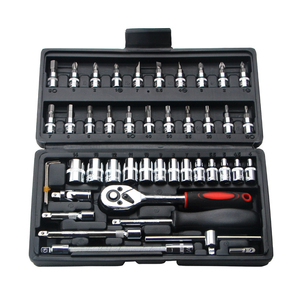 46pcs Combination Tool Set 1/4