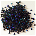 400 unids/bolsa Jalea 2mm 3mm SS12 Púrpura Negro Magia del Color del AB Resina Rhinestones Del Arte Del Clavo Taladro del Palillo Del Teléfono Uso Pegamento Hotfix AB24