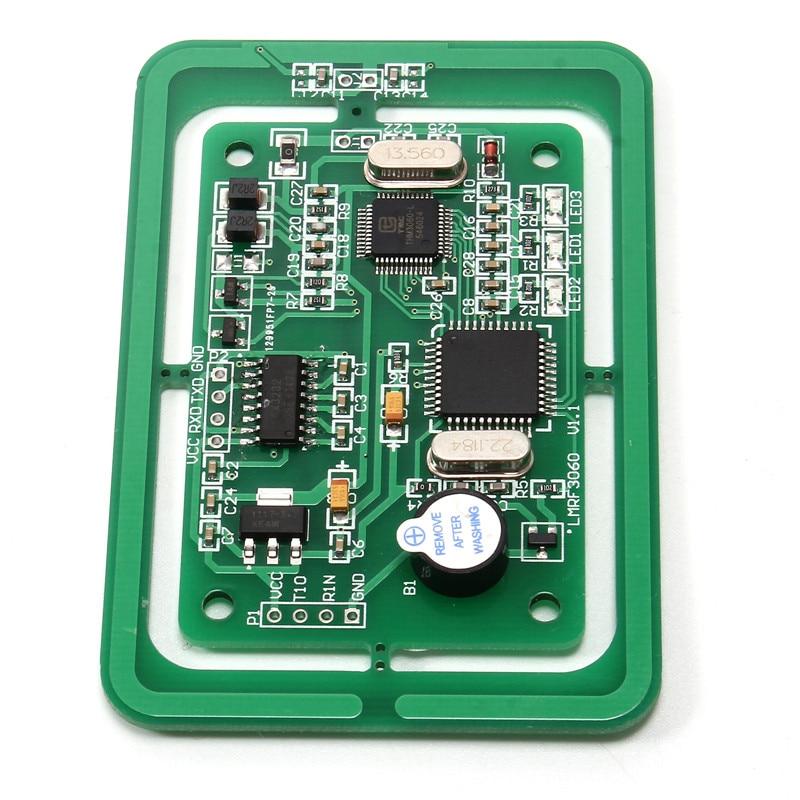5V RFID Module Multi-Protocol Card Reader Writer Module LMRF3060 Developing Board UART/TTL Interface