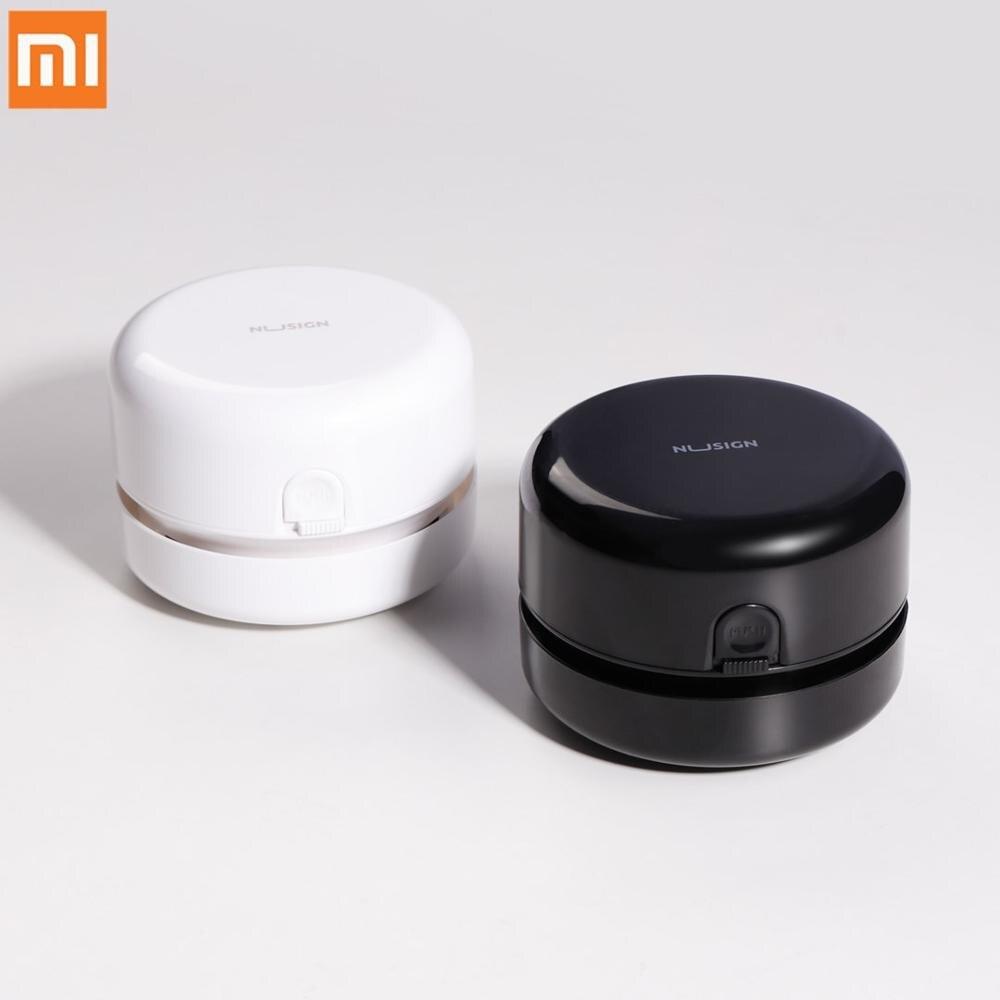 Xiaomi mijia nusign desktop mais limpo mini desk cleaner portátil leve durável aspirador de pó para sala de aula escola escritório