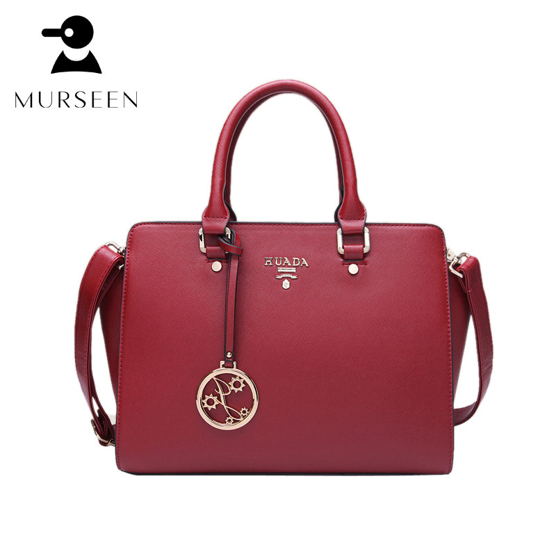 Women Luxury Cow Leather Handbags Fashion 100% Genuine Leather Shoulder Bags High Quality Messenger Bag Famous Designer Tote Red maihui designer handbags high quality shoulder crossbody bags for women messenger 2017 new fashion cow genuine leather hobos bag