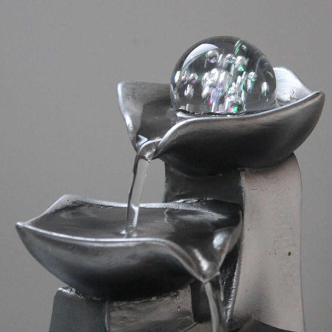 樹脂水噴水屋内装飾クリエイティブクラフト家の装飾家の置物風水風水噴水オフィス家の装飾