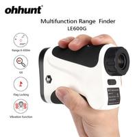 ohhunt 6X 600M Laser Rangefinders Multifunction Hunting Monocular Rangefinder LRF Hunt Range Finder Distance Meter Echo Sounder