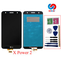5.5'' LCD Display For LG X Power 2 M320 M320G M320F M320N LCD Touch Screen Digitizer Assembly With Frame LCD Monitor Replacement