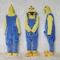 Despicable Me Minion único olho macacão Costume pijama macacão Hoodies adultos Cosplay para Halloween e carnaval