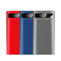 Power Bank 20000mAh Phone Battery Charge Battery Pack Powerbank USB Charger for iPhone 6 7 8 x for Samsung Wholesale Dropship