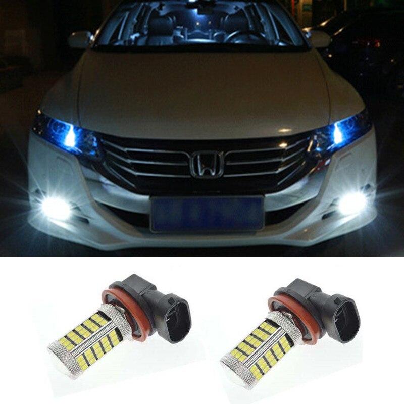 pcs car led   smd light bulb auto fog light driving lamp light  honda civic fit