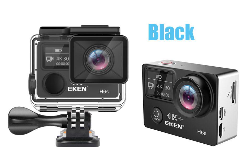 Оригинальная Экшн-камера EKEN H6S Ultra HD 4k 30fps с чипом Ambarella A12, водонепроницаемая Спортивная камера EIS go 30 м, pro cam dvr