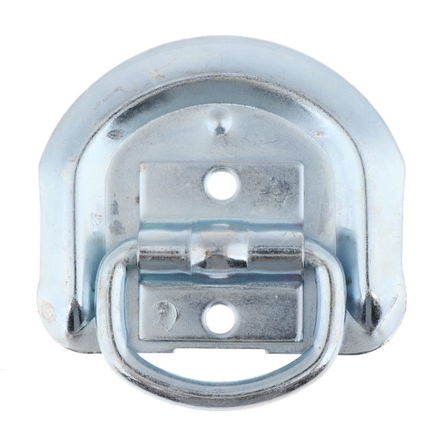 1 шт. сварное D образное кольцо, зажимные анкеры, высокопрочные металлические D образные кольца со сварочными зажимами для прицепа, грузовика, автофургона, вездехода и т. д.
