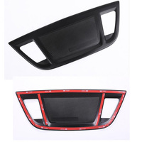 Aluminum Car Dashboard Speaker Cover Trim Styling Sequins Fit For BMW X1 2016 Interior Accessories Black
