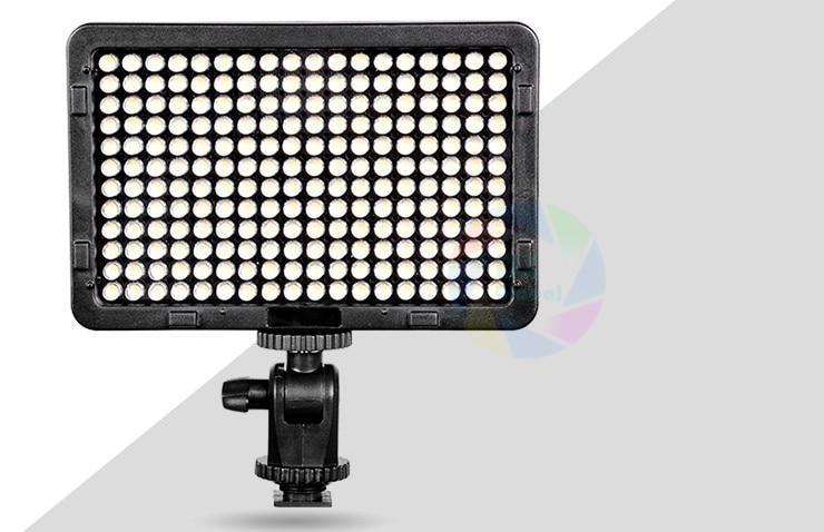 Camera HD 216 Pcs LED Video/Photo Light Lamp 13W 1560LM 5600K/3200K Dimmable for Canon Nikon Pentax DSLR Camera Video Camcorder цена