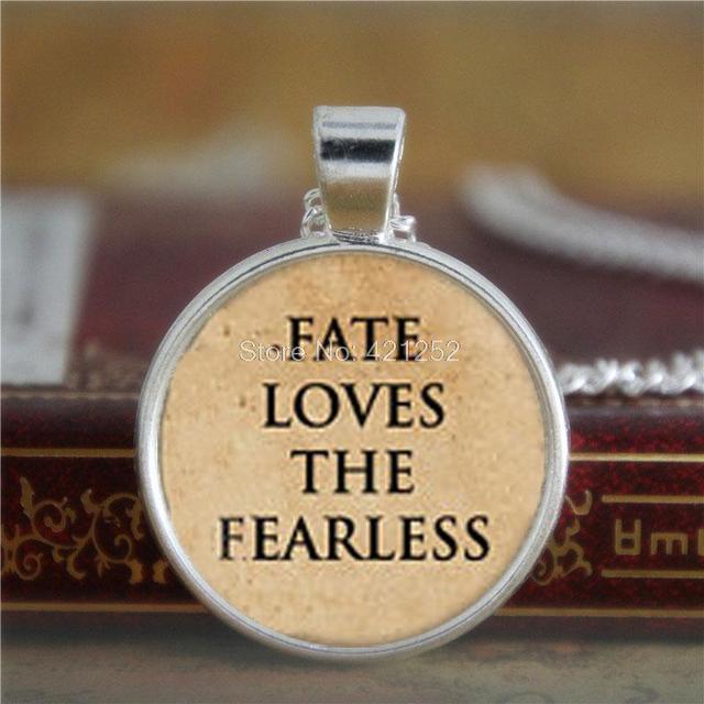 Citaten Uit The Kite Runner : 10 stks destiny moed ketting fate loves de fearless ketting