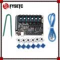 FYSETC TB67S109 шаговый Драйвер 6 шт. + FYSETC F6 V1.3 плата все-в-одном электронное решение материнская плата для 3D-принтера CNC устройств