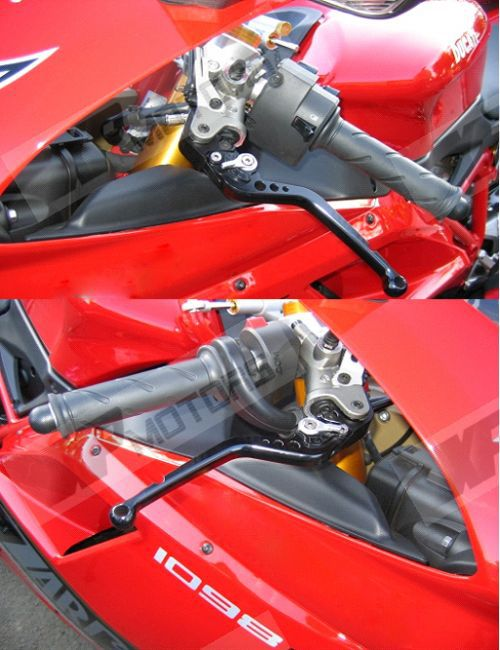 For Honda NSR50//NSF100 ALL YEARS CNC Adjustable 3D Long Brake Clutch levers