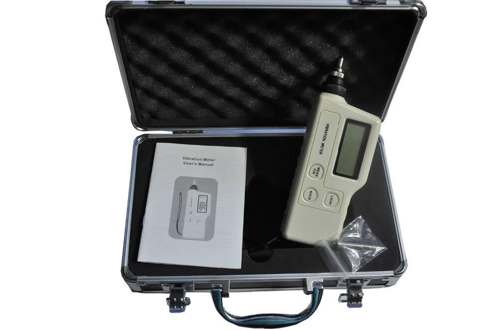 Handheld <font><b>Digital</b></font> <font><b>Vibration</b></font> <font><b>Sensor</b></font> <font><b>Meter</b></font> <font><b>Tester</b></font> GM63A <font><b>Portable</b></font> <font><b>lcd</b></font> <font><b>vibration</b></font> <font><b>meter</b></font> Analyzer Acceleration with carry box