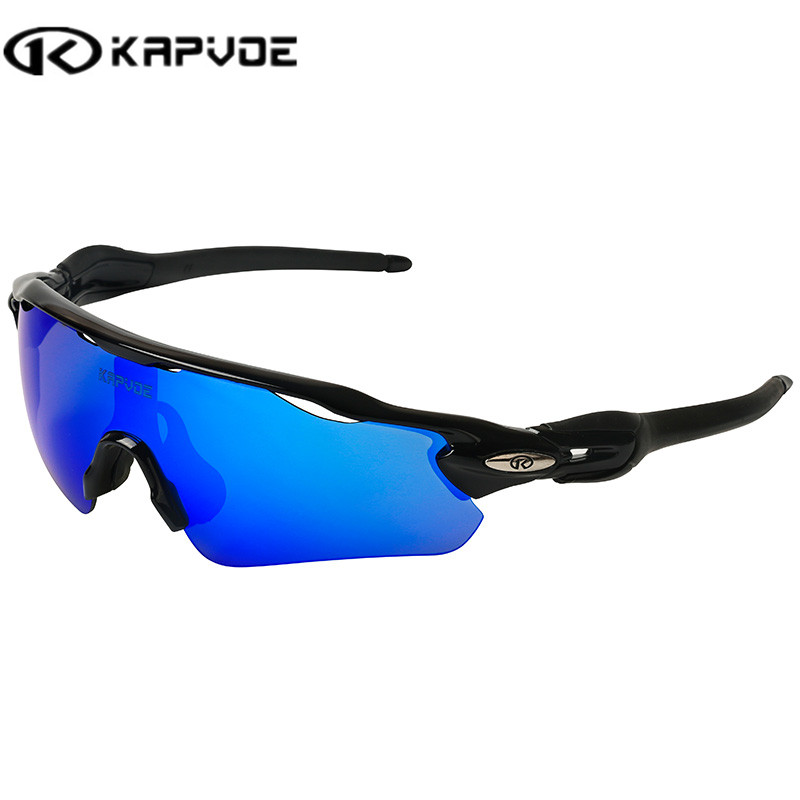 Kapvoe Men Sport Sunglasses Cycling Glasses Bicycle Bike Fishing Driving Sun Glasses Wholesale Glasses for Man Women Sunglasses feidu мода steampunk goggles sunglasses women men brand designer ретро side visor sun round glasses women gafas oculos de sol
