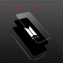 Attack On Titan Tempered Glass Soft TPU Phone Case for iPhone