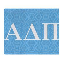 Alpha Delta Pi Letters Soft Fleece Throw Blanket Throws Fleece Blanket Manta Coberto For Sofa/Bed/Car/Office(China)